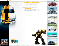 Chevy Transform Your Garage site
