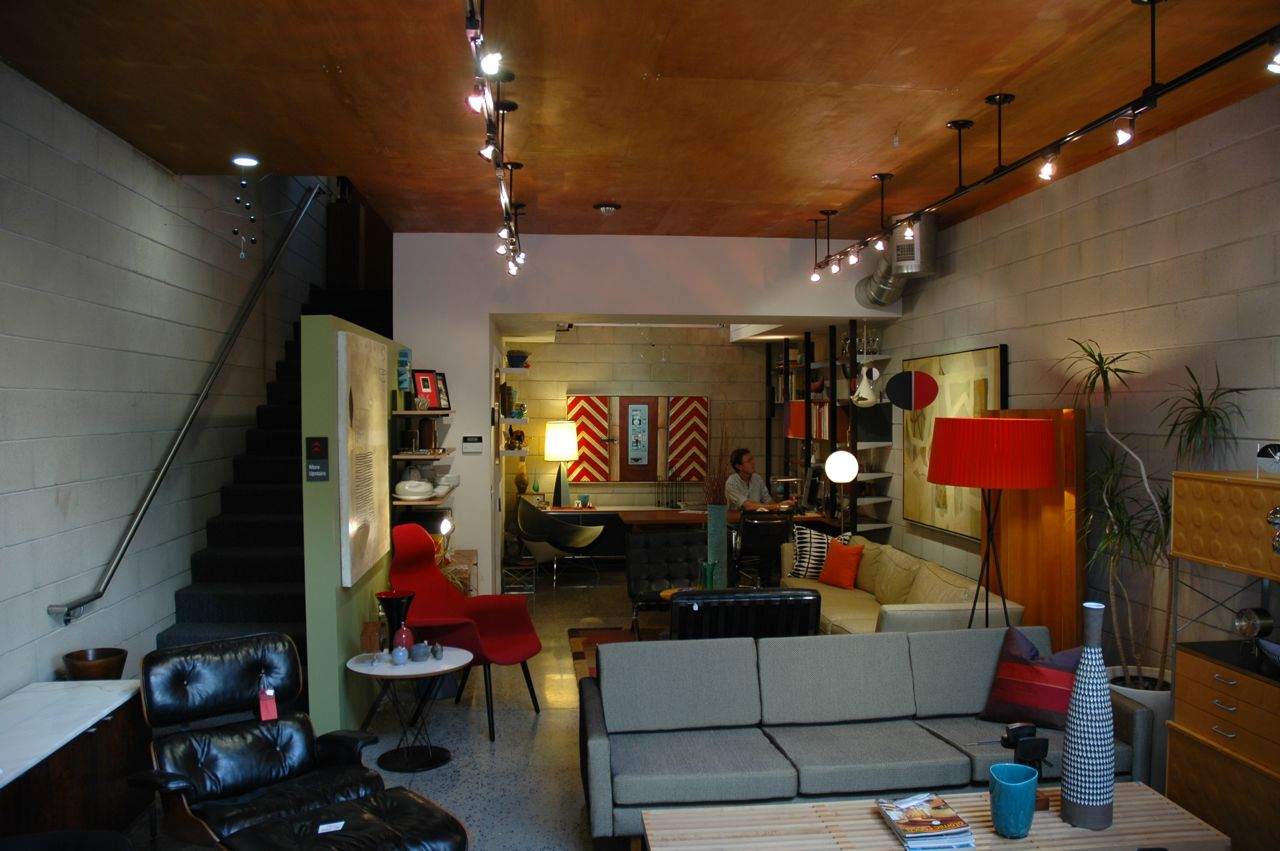 Interior Design — Mid-century Modern – rule of 3